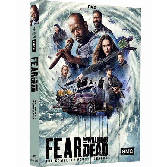 Fear the Walking Dead Season 4 DVD