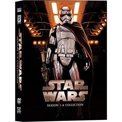 Star Wars DVD Complete Series 1-8 Box Set