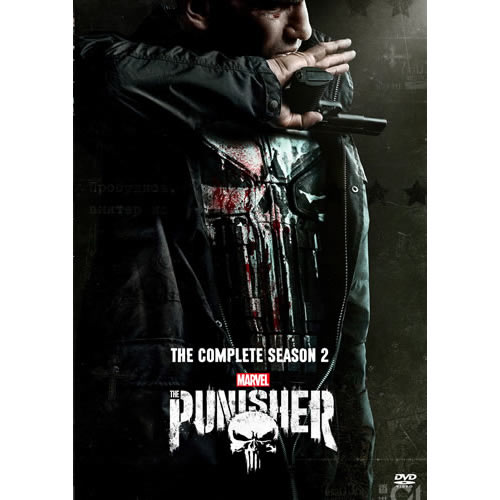 The Punisher Season 2 DVD