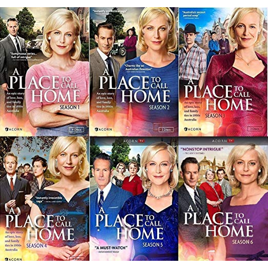 A Place to Call Home DVD Complete Series 1-6 Box Set