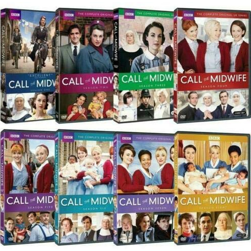 Call the Midwife DVD Complete Series 1-8 Box Set