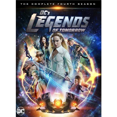 DC's Legends of Tomorrow Season 4 DVD