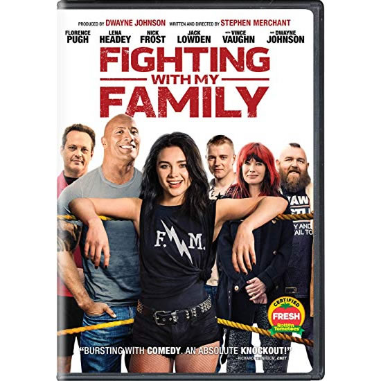 Fighting With My Family DVD
