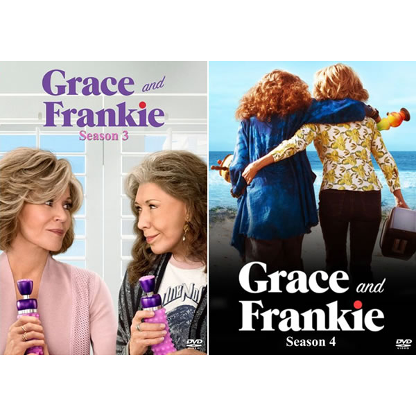 Grace And Frankie DVD Complete Series 3-4 Box Set