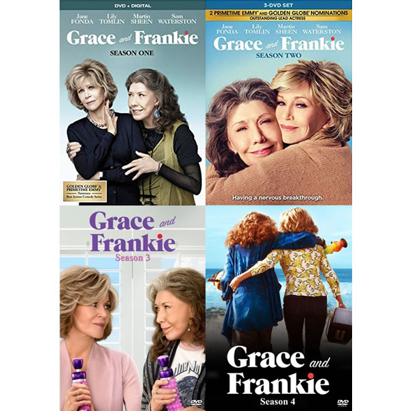 Grace And Frankie Season 1-4 DVD