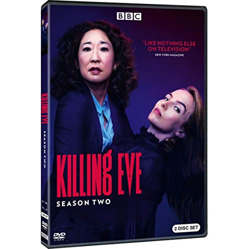 Killing Eve Season 2 DVD