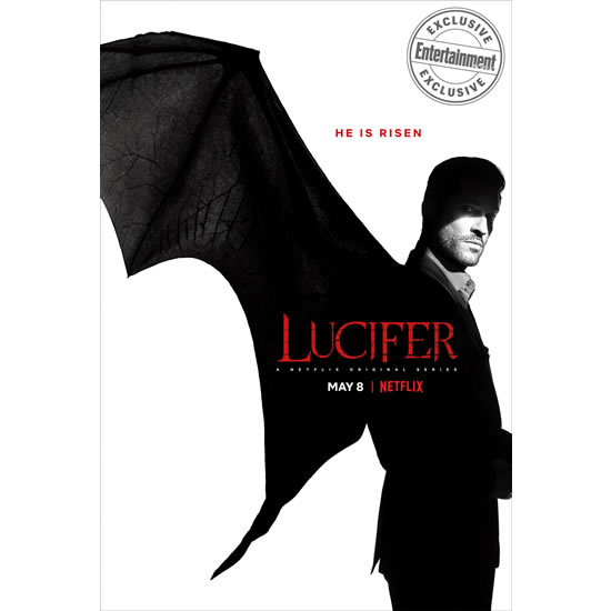 Lucifer Season 4 DVD