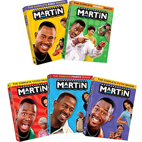 Martin DVD Complete Series 1-5 Box Set