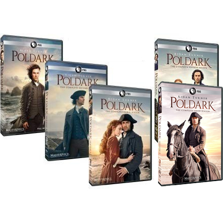 Masterpiece: Poldark DVD Complete Series 1-5 Box Set
