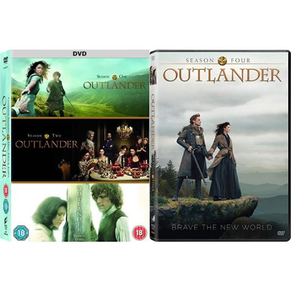 Outlander Season 1-4 DVD