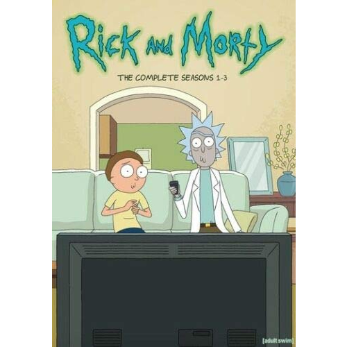 Rick and Morty DVD Complete Series 1-3 Box Set