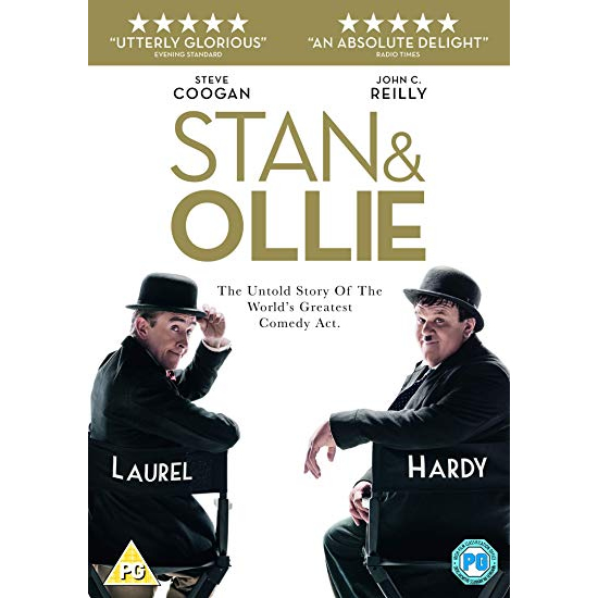 Stan and Ollie 2019 DVD