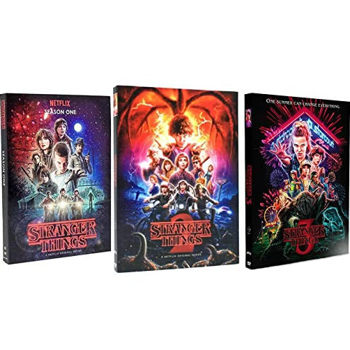 Stranger Things DVD Complete Series 1-3 Box Set