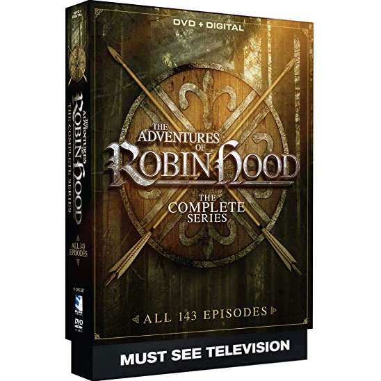 The Adventures of Robin Hood DVD Complete Series Box Set