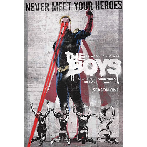The Boys Season 1 DVD