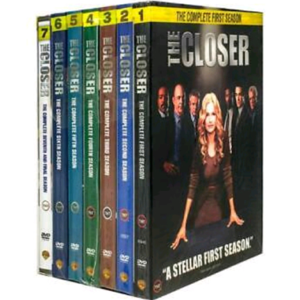 The Closer DVD Complete Series 1-7 Box Set