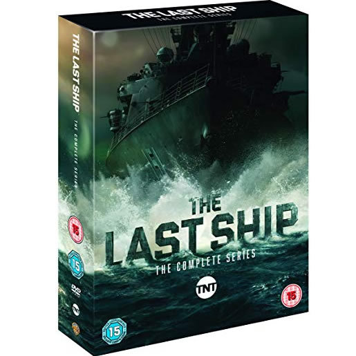 The Last Ship DVD Complete Series 1-5 Box Set