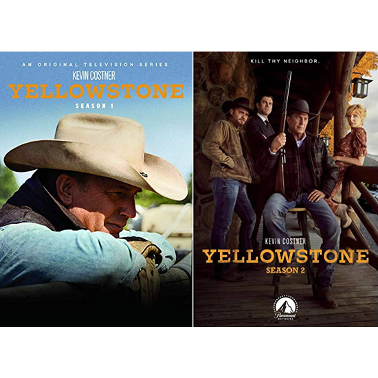 Yellowstone DVD Complete Series 1-2 Box Set