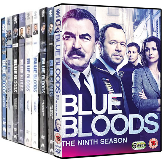 Blue Bloods DVD Complete Series 1-9 Box Set