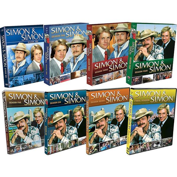 Simon & Simon DVD Complete Series 1-8 Box Set