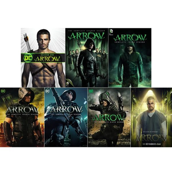 Arrow DVD Complete Series 1-7 Box Set