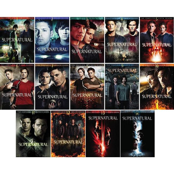 Supernatural DVD Complete Series 1-14 Box Set