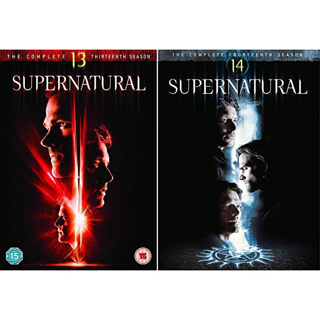 Supernatural DVD Complete Series 13-14 Box Set