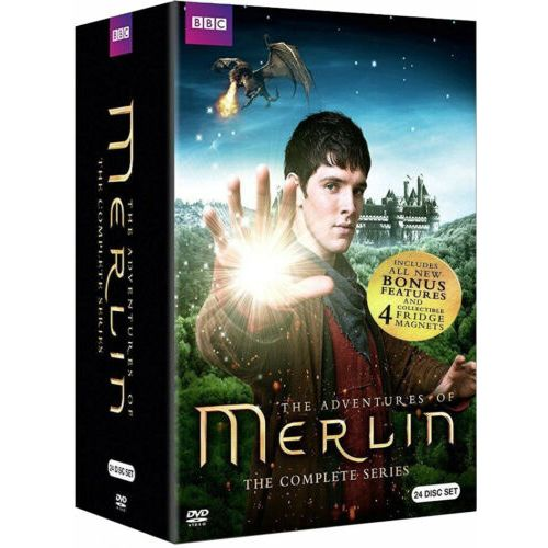 Merlin Complete Series DVD Box Set