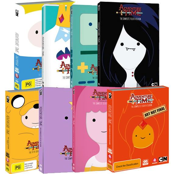 Adventure Time Complete Series 1-8 DVD