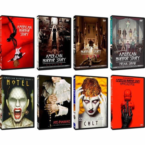 American Horror Story Complete Series 1-8 DVD