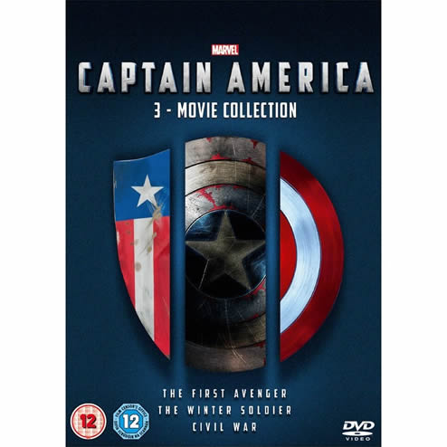 Captain America Complete Series 1-3 DVD Box Set