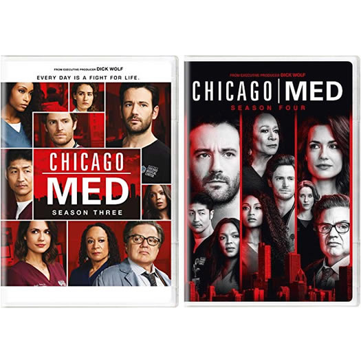 Chicago Med Complete Series 3-4 DVD