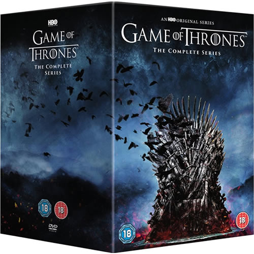 Game of Thrones Complete Series 1-8 DVD Box Set