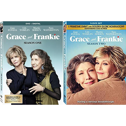 Grace And Frankie Complete Series 1-2 DVD