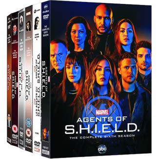 Marvel's Agents of SHIELD Complete Series 1-6 DVD