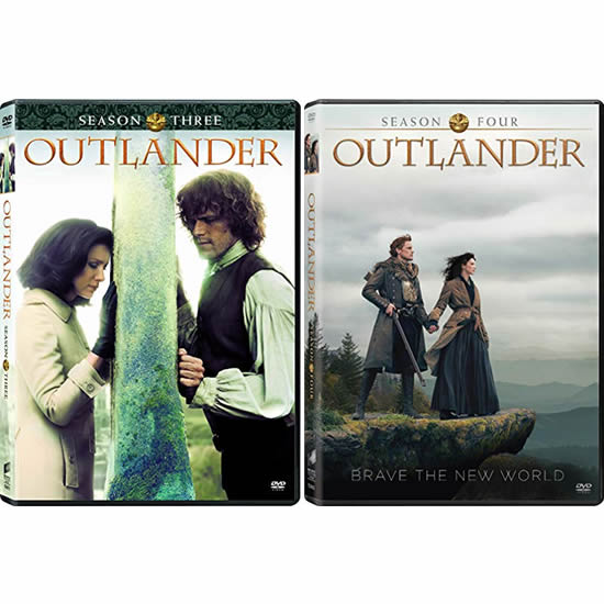 Outlander Complete Series 3-4 DVD