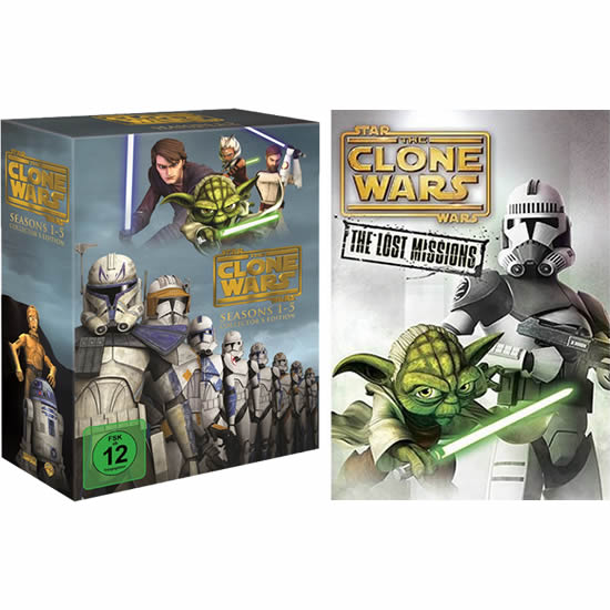 Star Wars: The Clone Wars Complete Series 1-6 DVD