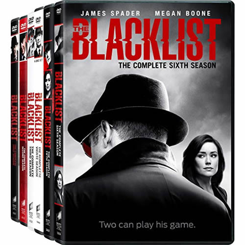 The Blacklist Complete Series 1-6 DVD
