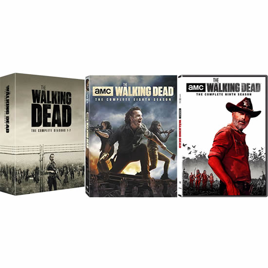 The Walking Dead Complete Series 1-9 DVD