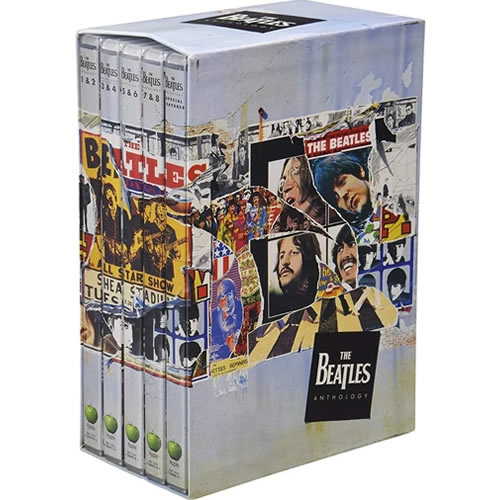 The Beatles Anthology Complete Series DVD Box Set