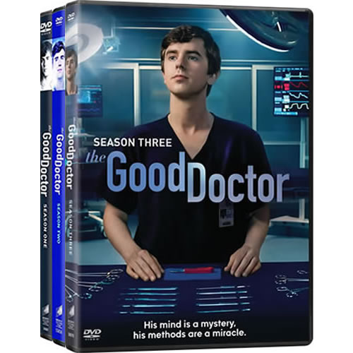 The Good Doctor Complete Series 1-3 DVD