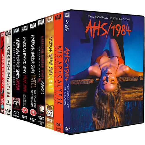 American Horror Story Complete Series 1-9 (32-Disc DVD)