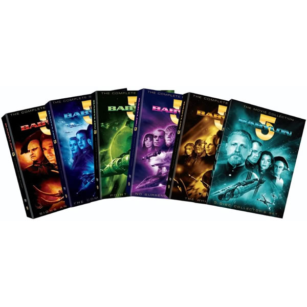 Babylon 5 Box Set (35-Disc DVD)