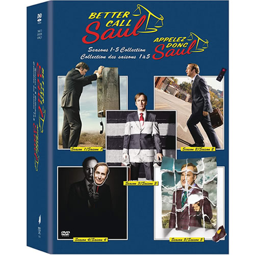 Better Call Saul Complete Series DVD Box Set