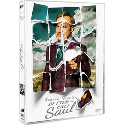 Better Call Saul - The Complete Season 5 (3-Disc DVD)