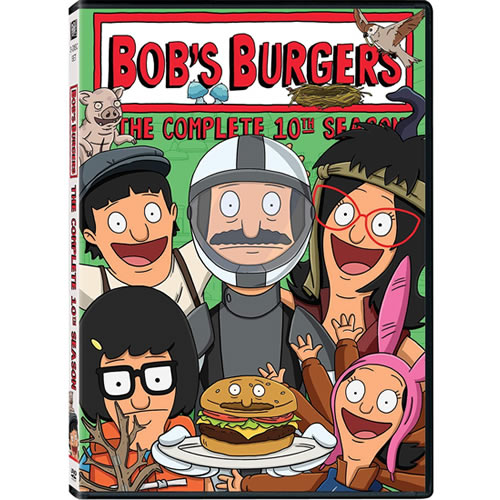Bob's Burgers - The Complete Season 10 (3-Disc DVD)