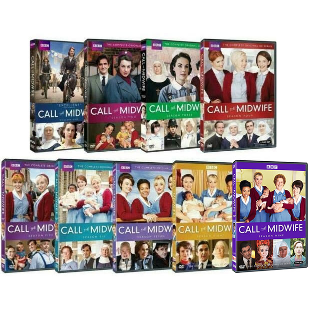 Call the Midwife Complete Series 1-9 (26-Disc DVD)