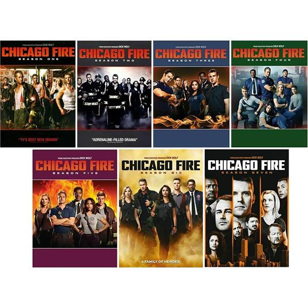 Chicago Fire Complete Series 1-7 (40-Disc DVD)