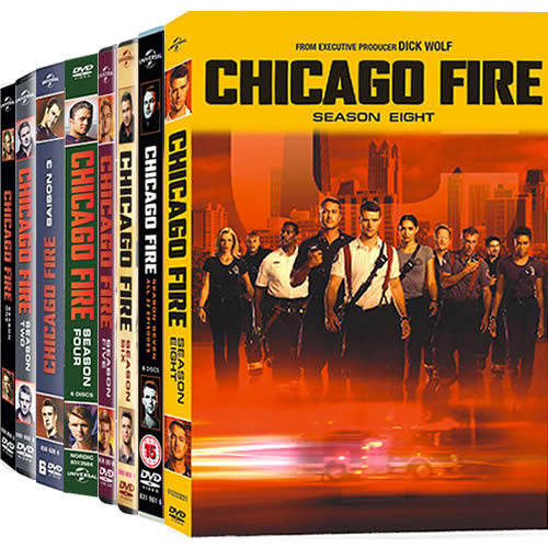 Chicago Fire Complete Series 1-8 (45-Disc DVD)