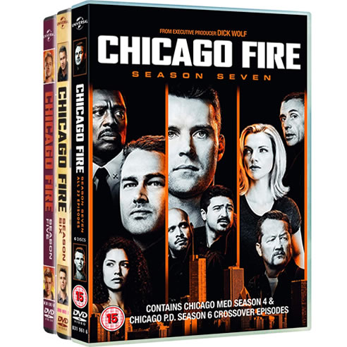 Chicago Fire Complete Series 5-7 (18-Disc DVD)